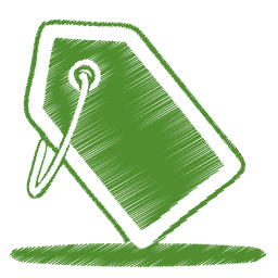 green-tag-icon